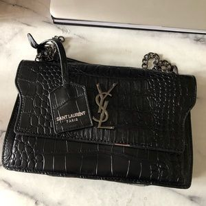 YSL LOOKALIKE DUPE ✨ Snakeskin Sunset Bag